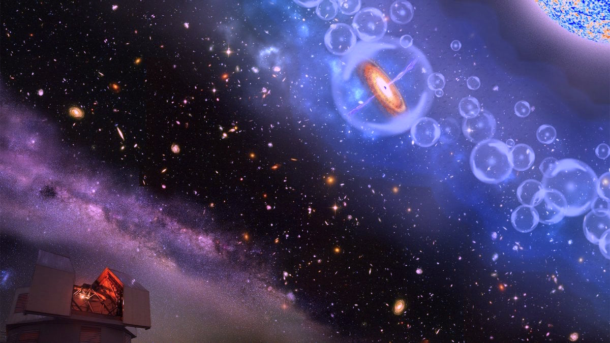 Astrophysics gets turned on its head: black holes come first